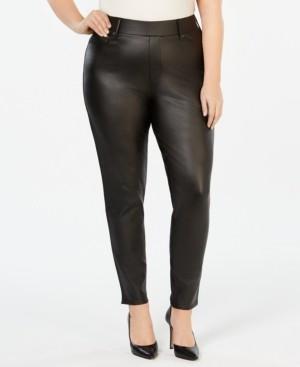 Seven7 Jeans Plus Size Ponte-Knit Jeggings
