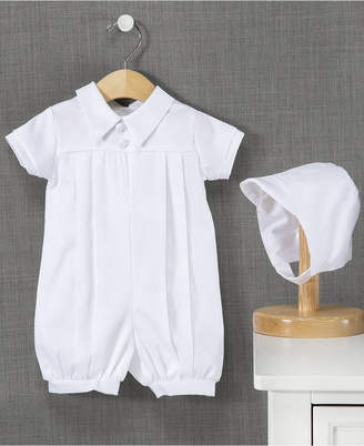 Ralph Lauren Madison Baby Boys Christening Romper