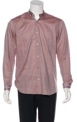Etro Chevron Button-Up Shirt