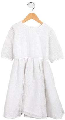 Isabel Garreton Girls' Long Sleeve Lace Dress