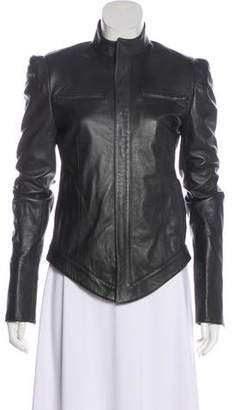 Todd Lynn Structured Leather Jacket