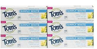 Tom's of Maine Natural Simply White Toothpaste