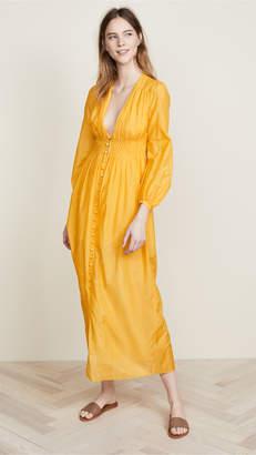 Nicholas N Smocked Maxi Dress