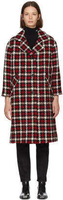 McQ Multicolor Check Casual Coat