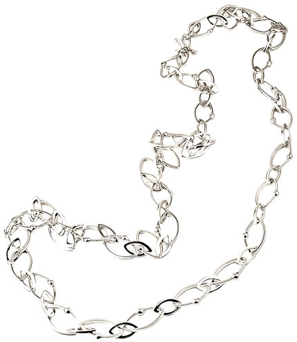 Elizabeth Showers Marquise Chain Necklace