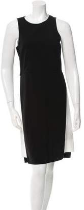 Tibi Black & White Sleeveless Dress