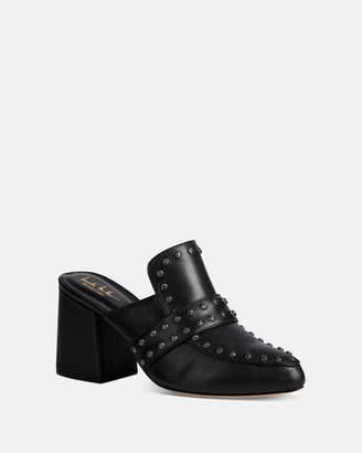 Nicole Miller Andria Leather Mule