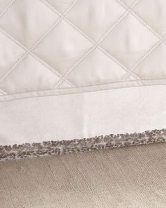 Pine Cone Hill King Sequin Tipped Velvet Dust Skirt