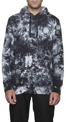 HUF Men's Leary Tie Dye Pullover Hoodie