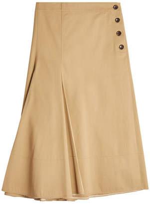 Joseph Twill Midi Skirt