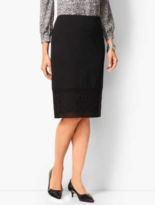 Talbots Refined Ponte Pencil Skirt