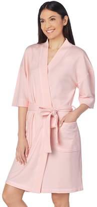 Stan Herman Women s French Terry Wrap Robe 9562778e4