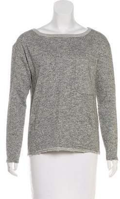 ATM Distressed Metallic Sweatshirt