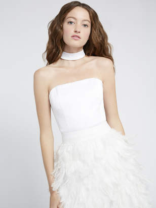 Alice + Olivia SARAPHINA CROPPED BUSTIER