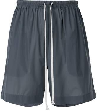 Rick Owens elastic waist shorts
