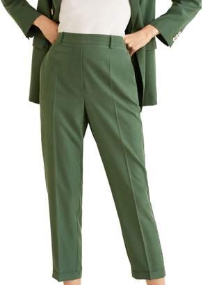 MANGO Modal Suit Pants