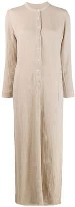Raquel Allegra crinkled maxi dress
