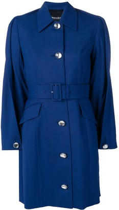 Y/Project folded detail trench coat