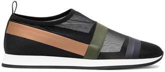 Fendi Multicolour Logo Slip On Sneakers