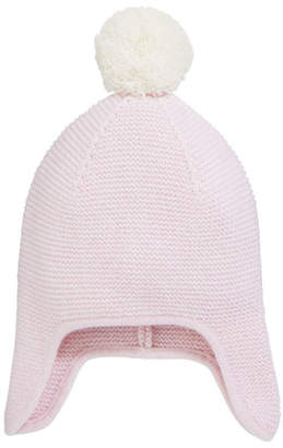 a60f7f259b5 Sofia Cashmere Texture Knit Cashmere Baby Trapper Hat