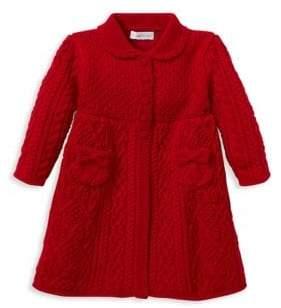 Ralph Lauren Girl's Wool Sweater Coat