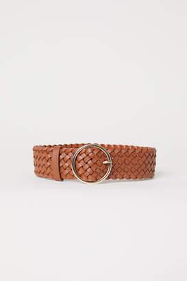H&M Braided Waist Belt - Orange