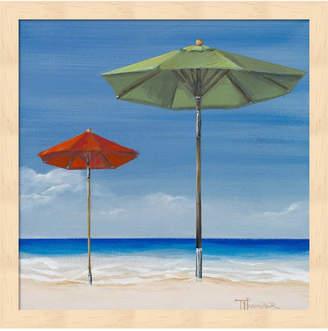 Tiffany & Co. Coastal Scene Ii By Hakimipour Framed Art
