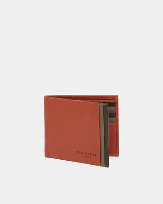 Ted Baker SNAPPER Leather bi-fold wallet