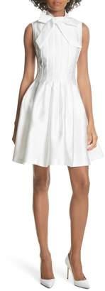 Ted Baker Tie Neck A-Line Dress