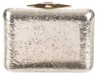 Judith Leiber Metallic Box Clutch