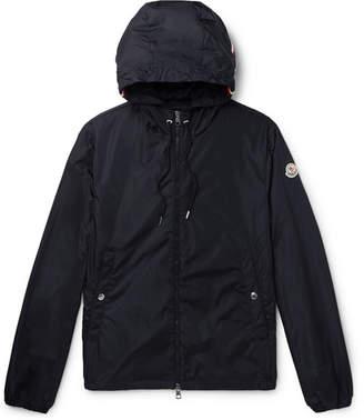 Moncler Grimpeurs Stripe-Trimmed Nylon Hooded Jacket