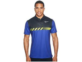 Nike MM Fly Short Sleeve Print Polo Men's Short Sleeve Pullover