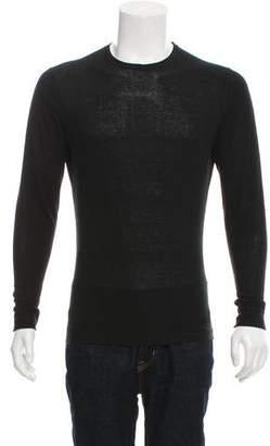 Acne Studios Woven Crew Neck Shirt