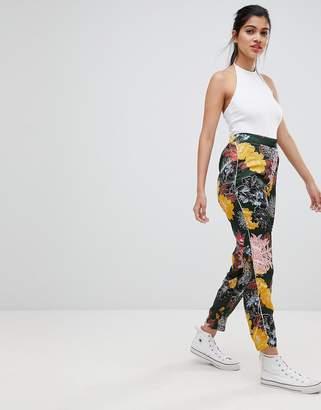Brave Soul Pixi Floral Trousers