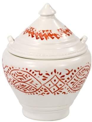 John Robshaw Lakki Covered Porcelain Jar