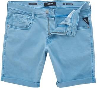 Replay Men's Stonewashed Hyperflex Bermuda Shorts