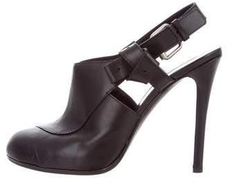 Thakoon Leather Slingback Pumps