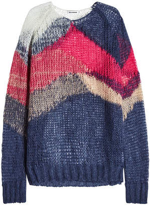 Jil Sander Pullover with Mohair and Virgin Wool