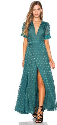 Tularosa Jace Wrap Dress $228 thestylecure.com