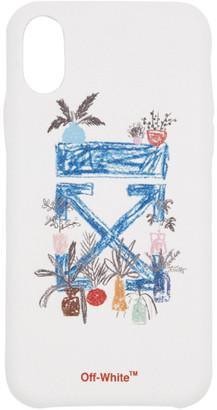 Off-White White Arrow iPhone X Case