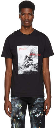 032c Black BMC Printed T-Shirt