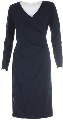 Armani Collezioni Navy Cotton Dresses
