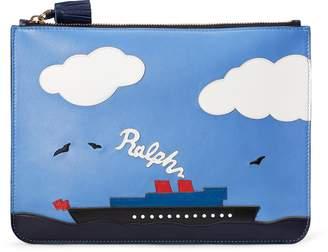 Ralph Lauren Steamboat Large Zip Pouch