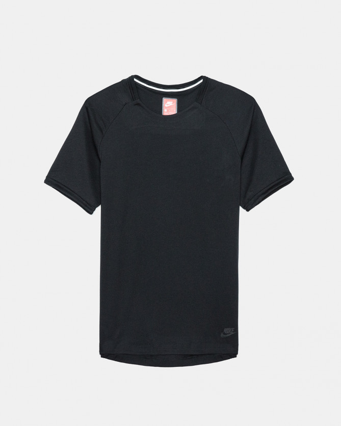 Nike - Sportswear Bonded Short Sleeve Top (Black)