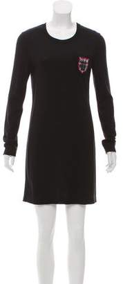 Chanel Paris-Edinburgh Wool Dress