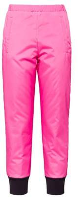 Prada Padded Technical Fabric Trousers