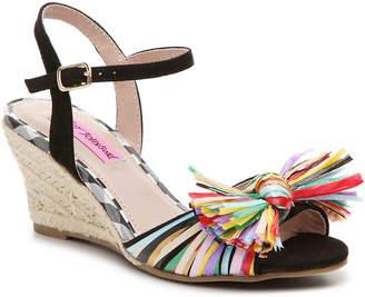 Betsey Johnson Beta Espadrille Wedge Sandal - Women's