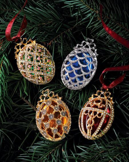 Faberge Mini Egg Ornaments