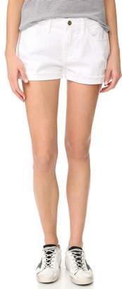 FRAME Le Garcon Shorts $189 thestylecure.com