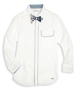 Little Marc Jacobs Little Marc Jacobs Toddler's, Little Boy's & Boy's Piped Button-Front Shirt